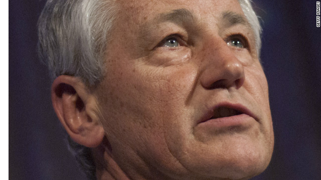 Who is Chuck Hagel?