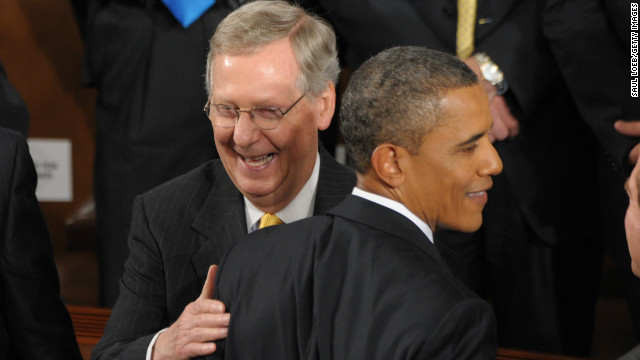 McConnell: We'll work with Obama