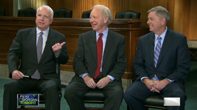 pmt three amigos john mccain joe lieberman lindsey graham bipartisanship_00002724