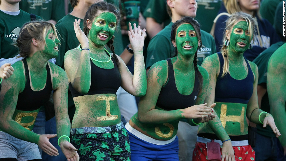"""""""Go Irish"""" may have evolved into #goirish in some circles, but fans share a common denominator: utter devotion to ND football."""