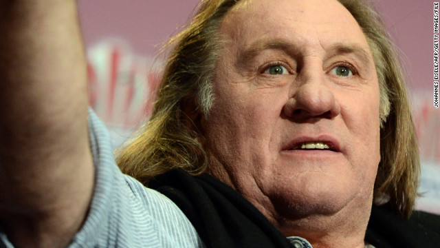Gerard Depardieu is opposed to French government plans for a tax increase on the rich.