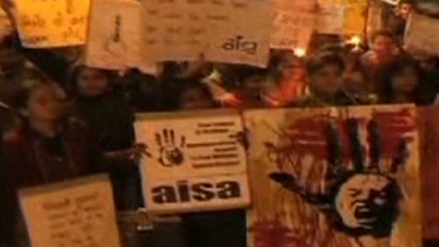 Public outrage over India gang rape