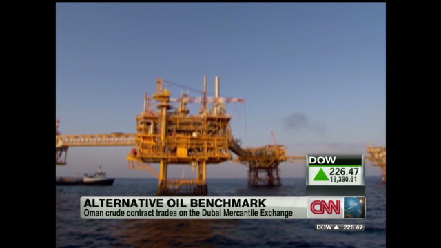 Alternative oil benchmark