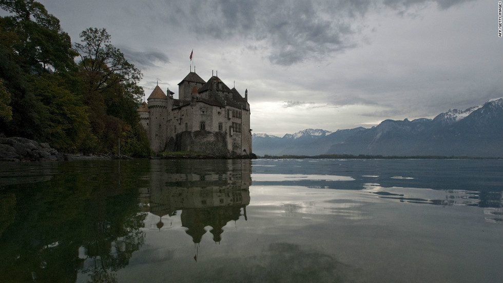 But it's not all races and regattas on Lake Geneva. Those who wish to take in the sights and sounds at their own pace can charter a boat and sail to sites such as the Chillon Castle near the town of Montreux.