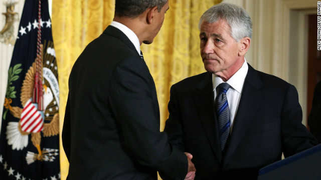Hagel pick seems to anger GOP