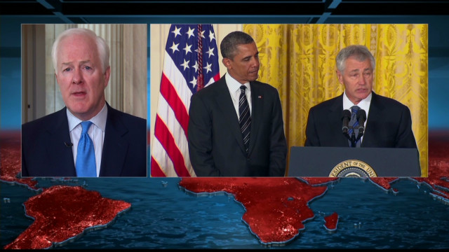 Cornyn: Hagel is 'profoundly wrong'