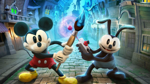"In ""Epic Mickey 2: The Power of Two,"" Mickey teams up with former nemesis and big brother Oswald, a tech-obsessed rabbit."