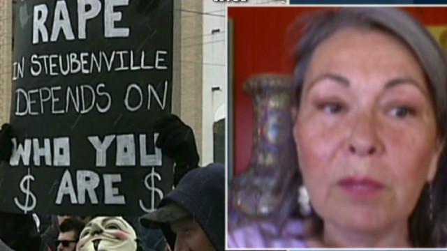 Roseanne: Fire lit in Steubenville