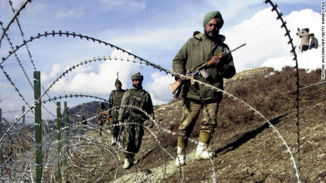 Indian troops cross border