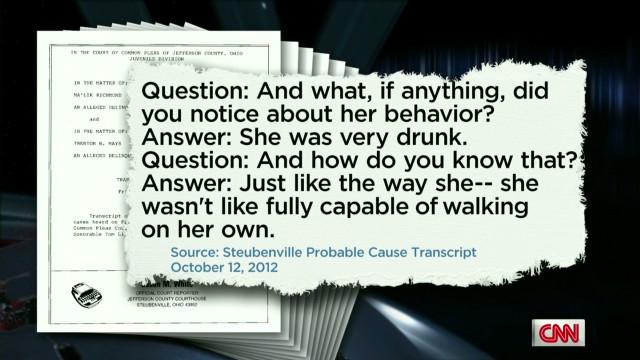Eyewitness accounts in Ohio rape case