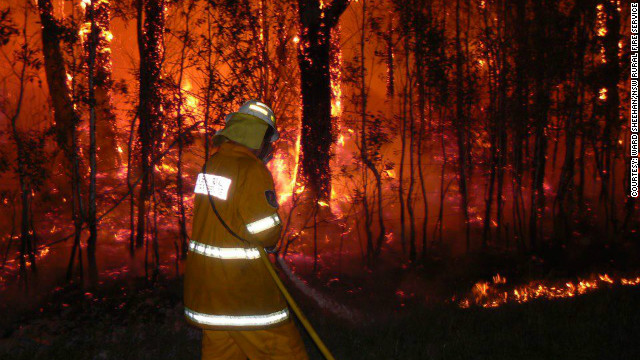 'Catastrophic' fire in Australian state
