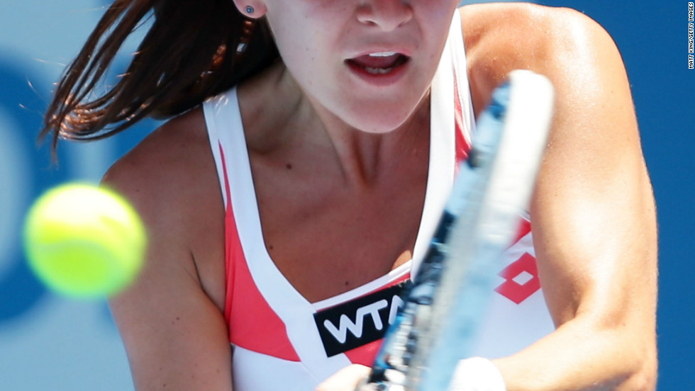 "World no. 4 Agnieszka Radwanska claimed temperatures that reached 41.4 degrees in Sydney were ""too hot for tennis"" at the Apia International tournament. Australia is currently sweltering under its hottest skies for over 100 years."