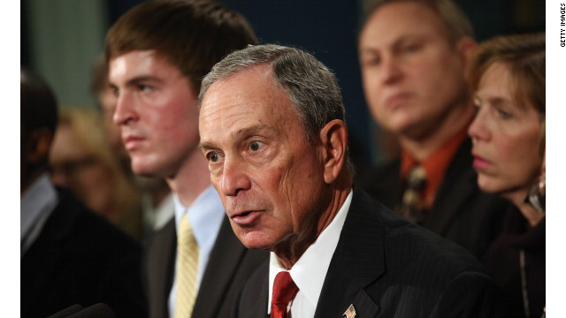 New York Mayor Michael Bloomberg graduated from Johns Hopkins University in 1964.