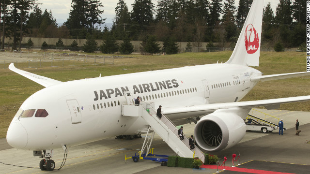 Japan's two largest 787 operators reportedly have begun installing modified lithium ion batteries on their 787 jets.