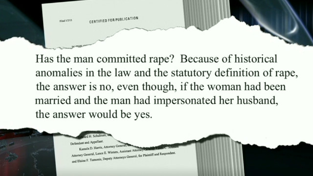 1872 law affects today's rape cases