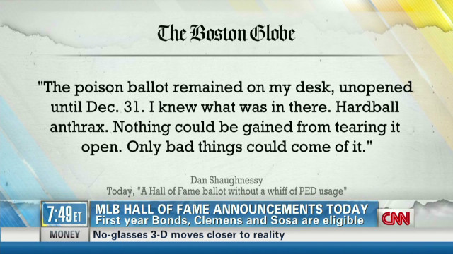 Controversy surrounds baseball ballots