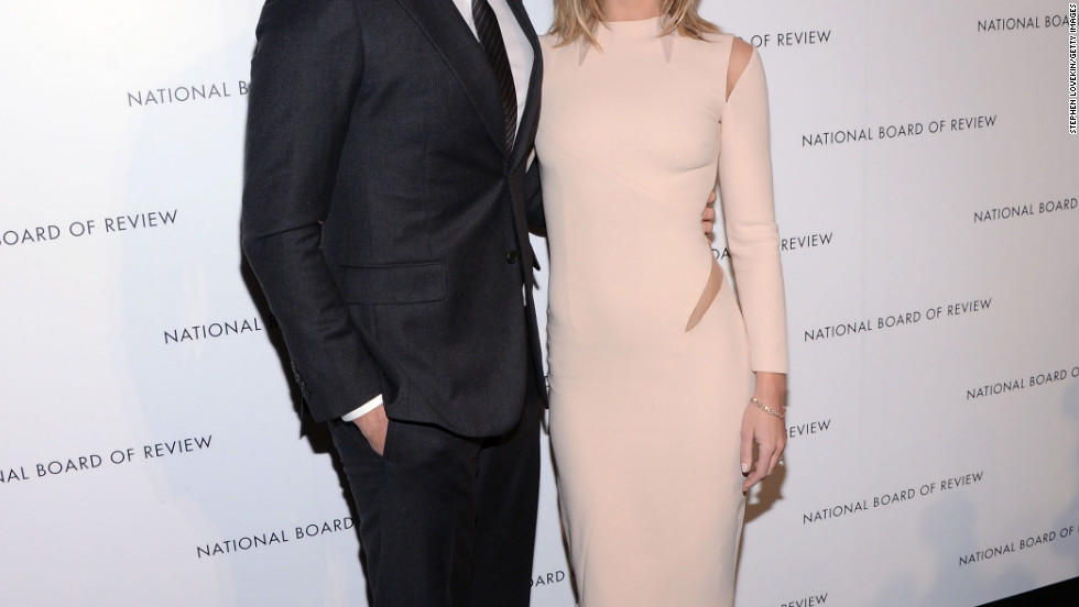 John Krasinski and Emily Blunt attend the 2013 National Board of Review Awards Gala in New York City.