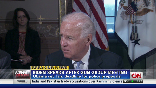 Biden: Gun effort a 'moral issue'