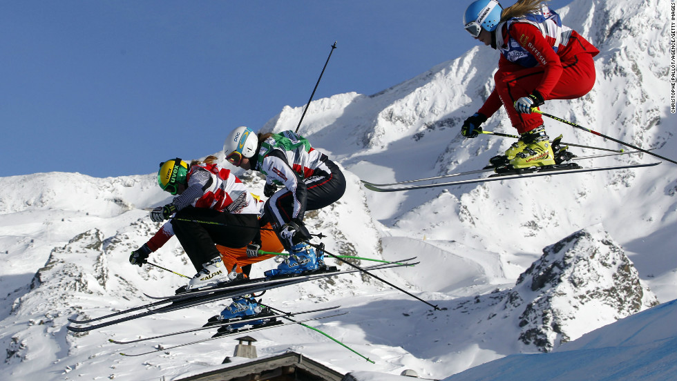 Ski cross is a four-way fight to the finish line across a specially constructed course complete with jumps, waves and steep turns. It enraptured audiences on its Olympics debut in Vancouver in 2010.