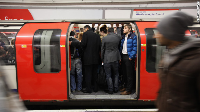The London Tube was the world's first underground metro rail line, opening in 1863.