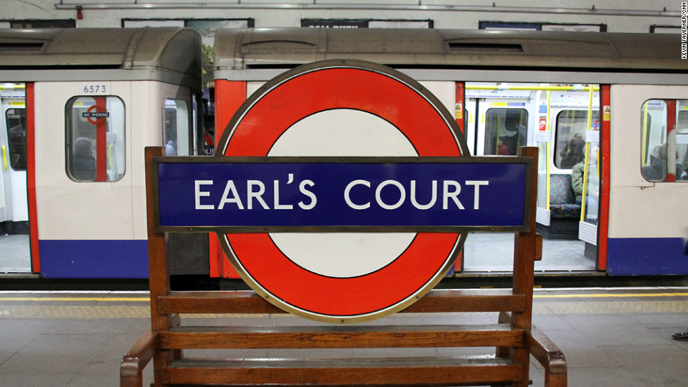 Earl's Court has been home to generations of travelling Australians. The Tube line runs underneath the exhibition center which played host to London 2012 Olympic events.