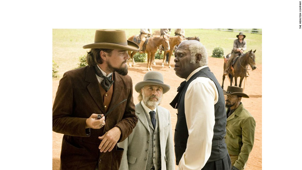 "Leonardo DiCaprio, left, with Christoph Waltz, center, and Samuel L. Jackson, has long been an emblem of the academy's snubs: He's been shut out of nominations for everything from ""Titanic"" to ""Inception,"" and even when he has gotten nods, he's never scored a statue. Despite critical acclaim for his performance in ""Django Unchained,"" the academy once again showed him no love."