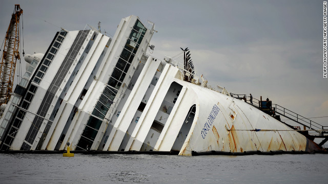 Costa Concordia victims remembered