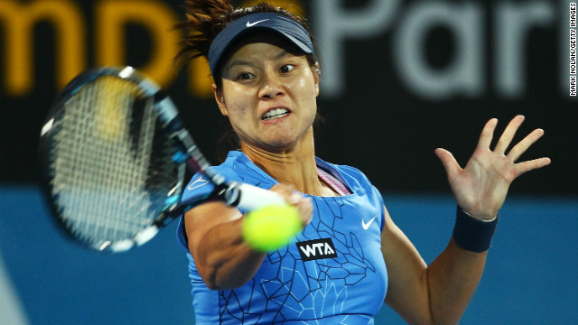 China's Li Na reached a career high fourth in the world rankings in June 2011.