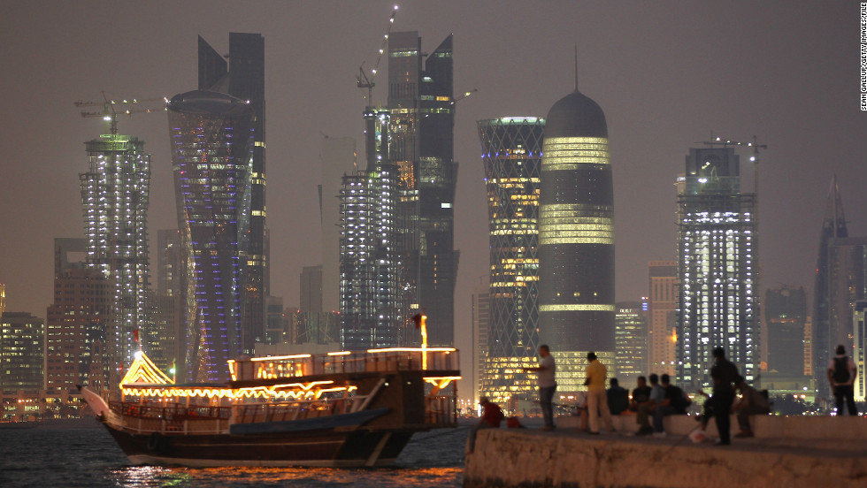 The Qatari capital of Doha has less experience when it comes to welcoming foreign tourists and travelers but, like its neighbors, it doesn't skimp on the spectacular skyscrapers.