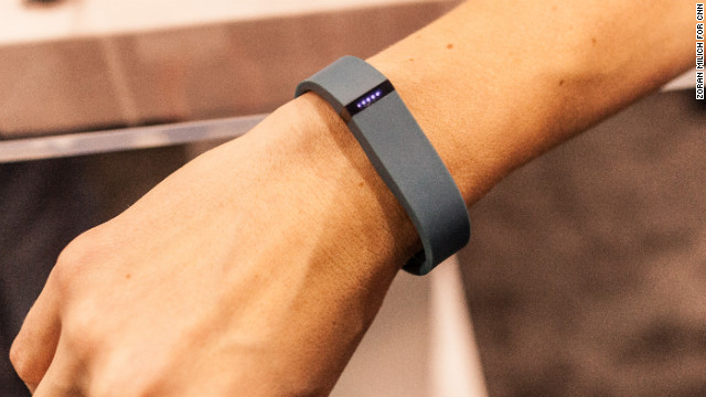 The Fitbit Flex tracks steps, distance, calories and sleep and syncs with your smartphone. It is scheduled to ship in early spring.