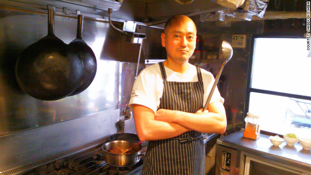Chef Shigeki Koshiba is wary of Japan's revolving door leadership.
