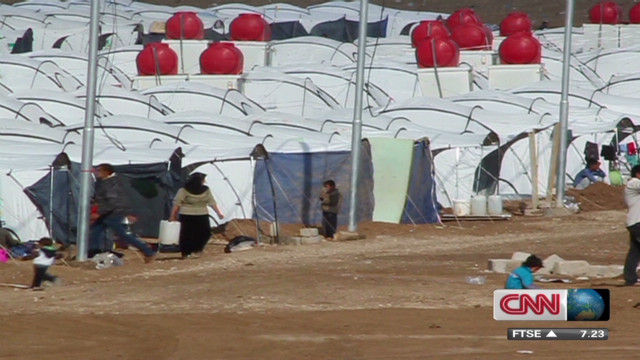 CNN producer visits refugee camps