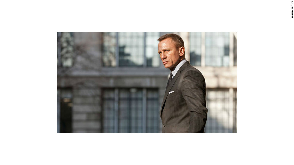 """Skyfall,"" the 23rd James Bond movie, opened in theaters in 2012. Craig continued to lead the film as Bond, joined by Naomie Harris, Judi Dench and Javier Bardem."