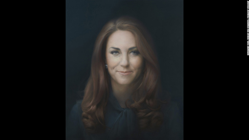 "Paul Emsley's ""The Duchess of Cambridge"" has been unveiled at the <a href=""http://www.npg.org.uk/"" target=""_blank"">National Portrait Gallery</a> in London. The painting is the first official portrait of <a href=""http://www.cnn.com/2012/12/03/world/europe/duchess-of-cambridge-profile/index.html"">Catherine</a>, wife of Britain's Prince William, at the gallery. It joins centuries-worth of official paintings and photographs of the British royal family in the gallery's collection."