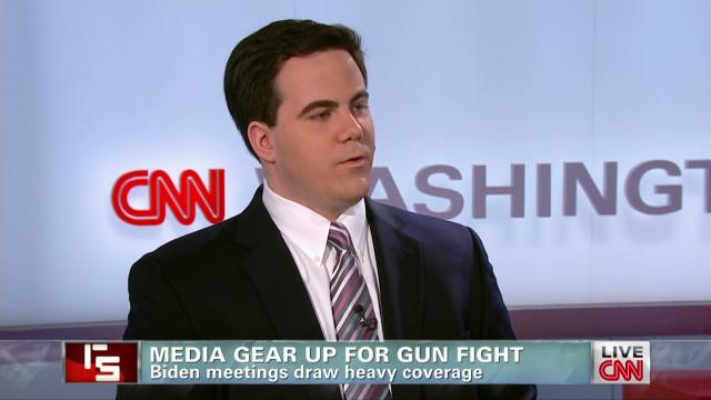 Media gear up for gun fight