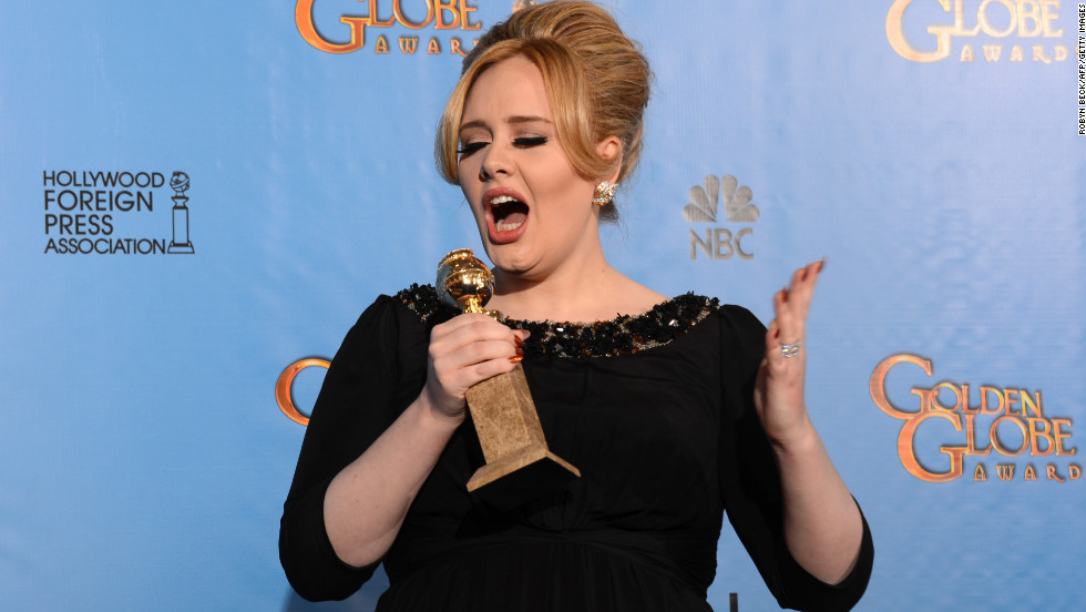 "Adele's collaboration with Paul Epworth in the James Bond film, ""Skyfall,"" picked up the award for best original song, leading to one of the most endearing acceptance speeches of the night. As Danes did, Adele made sure to thank her newborn son, among others."