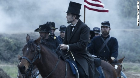 "Daniel Day-Lewis stars as Abraham Lincoln in ""Lincoln."""