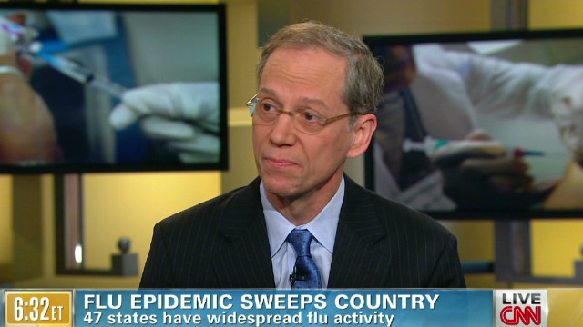 Flu epidemic sweeps country