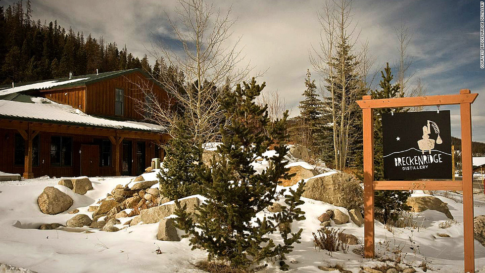 Breckenridge distillery offers warm ups in the form of small-batch bourbon, vodka and more.