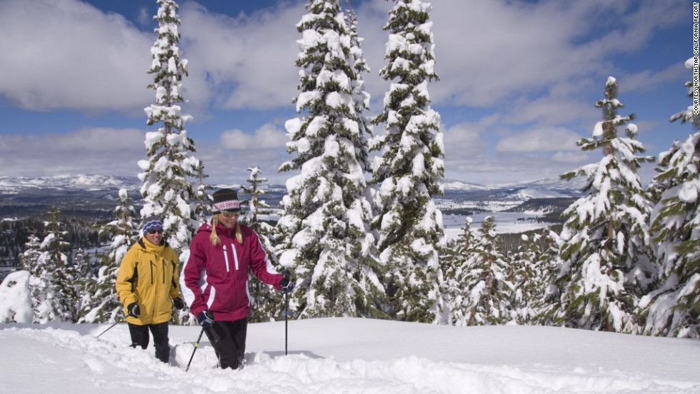 Snowshoeing is nothing new, but Northstar California ups the exertion with snowshoe running clinics and races.
