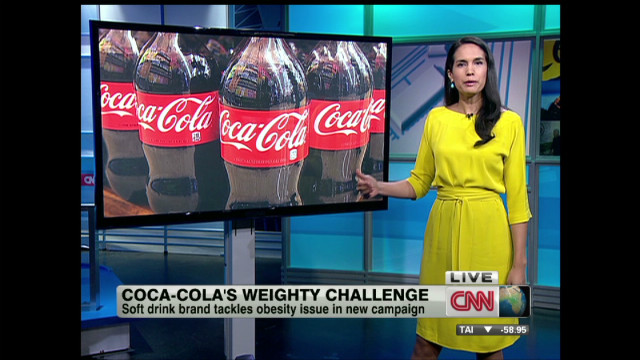 Coke's new ad campaign targets obesity