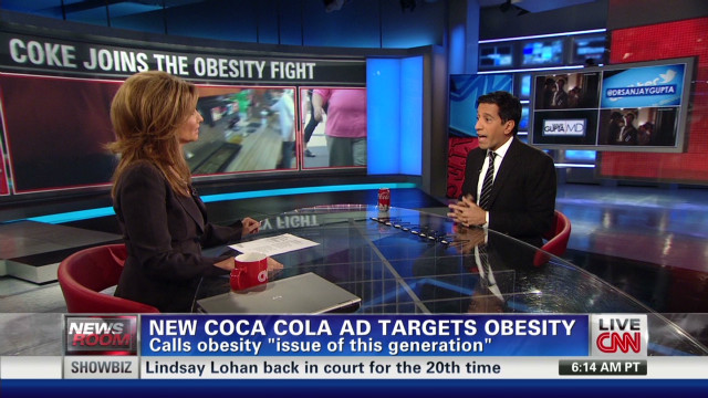 Coca-Cola weighs in on obesity fight