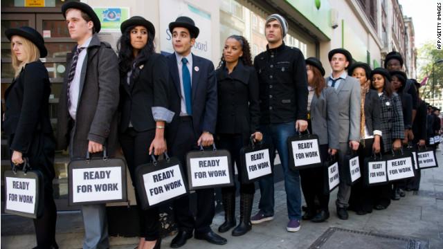 Eurozone's unemployment struggle