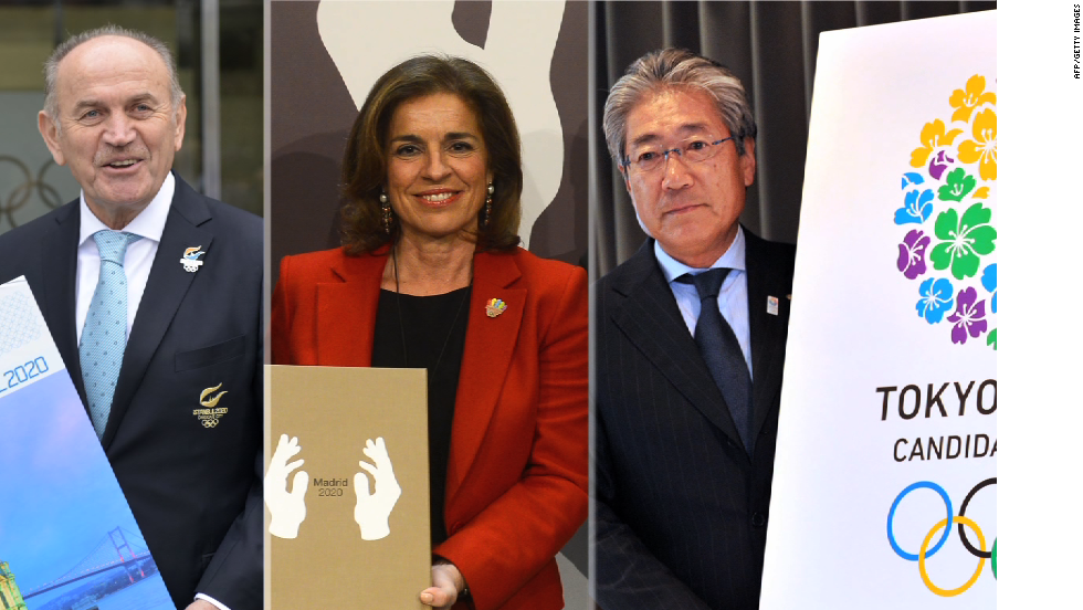 The International Olympic Committee is meeting in Buenos Aires to decide whether to award the 2020 Olympic Games to Madrid, Istanbul or Tokyo.