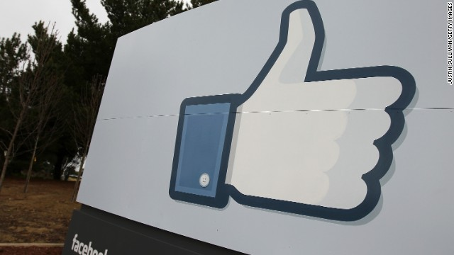 A sign with the 'like' symbol stands in front of the Facebook headquarters on February 1, 2012 in Menlo Park, California. Facebook is expected to file for its first initial public offering today seeking to raise at least $5 billion. (Photo by Justin Sullivan/Getty Images)