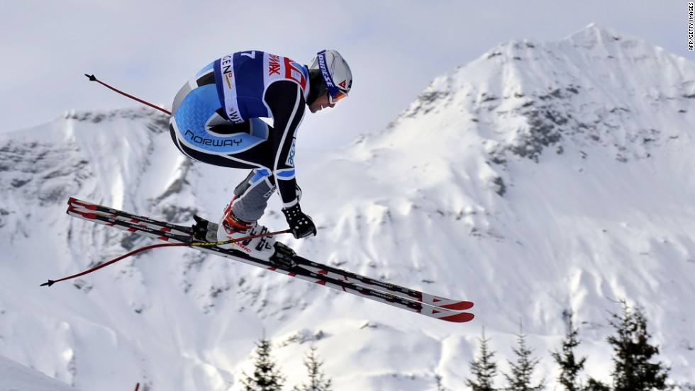 Svindal is racing in Switzerland's Wengen this weekend. Saturday's downhill features the longest run on the World Cup circuit.