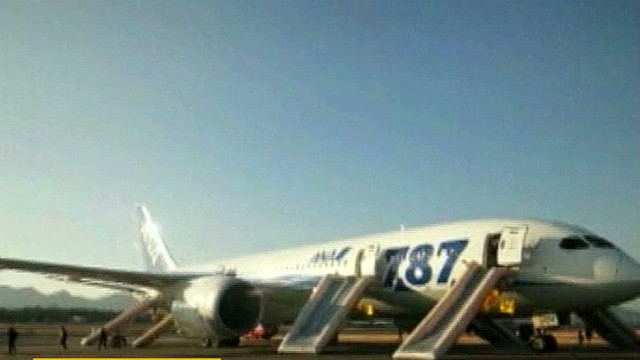 Dreamliner makes emergency landing