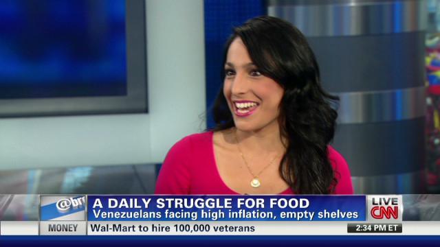Daily struggle for food in Venezuela