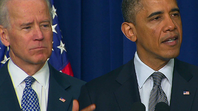 Obama pushes gun control measures