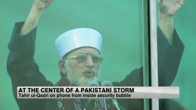 Pakistan's protest preacher